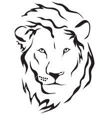 And with some verse about the lion of Judah Lion Head Tattoos, Leo Tattoos, Tribal Tattoos, Small Tattoos, Simple Lion Tattoo, Petit Tattoo, Lion Vector, Silhouette Clip Art, Hawaiian Tattoo