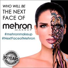 1 Week Left to Enter!   WHO WILL BE THE NEXT FACE OF MEHRON?  In celebration of Mehrons 90th Year Anniversary we invite you to participate in our Next Face of Mehron Makeup Instagram Contest. The winner will receive a cash prize Mehron products and a spotlight feature on Mehrons website blog and social media platforms of over a quarter million followers!. . . . CONTEST RULES:  1. Repost the following image on Instagram and tag @mehronmakeup and hashtag #mehronmakeup & #NextFaceofMehron. 2…