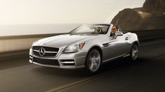 SLK350 in Iridium Silver with Sport and Lighting Packages   Mercedes-Benz