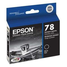 Genuine Epson 78 - T078120 Black Ink Cartridge