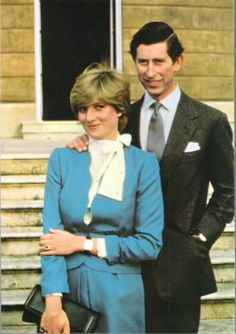 Formal Engagement Photo Of Charles The Prince Wales And Lady Diana Spencer
