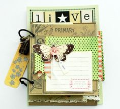 jenni bowlin mini album! Available @ Simply Scrapbooks