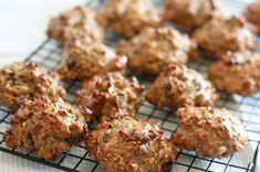 High Protein Healthy Oatmeal Cookies
