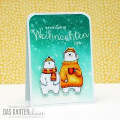 Das Kartenchaos: MFT Bears in the house (+new Create A Smile products)