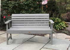 Weatherly 5' Bench by Highwood USA No painting, staining or waterproofing! $479.99