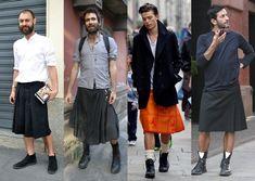 Homens também usam saias!