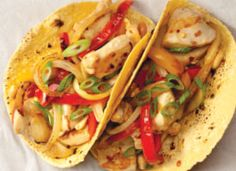 Recipe: Kung Pao Chicken Tacos. Fresh and flavorful fusion tacos combine sweet peppers and chicken for a crowd-pleasing twist!