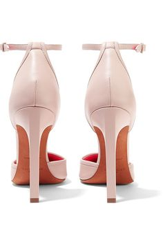 Givenchy - Matte And Patent-leather Pumps - Beige - IT38.5