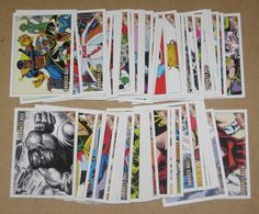 Marvel Bronze Age (Rittenhouse 2012) Lot of 71 Cards EX
