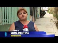 En Pereira está la historia de una familia, quienes gracias a la pavimentación de un andén se han visto beneficiados y ahora pueden movilizar, con total facilidad, la silla de ruedas de uno de sus miembros.