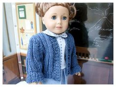 Back to School Set for American Girl Doll 18 by BonJeanCreations, $35.49