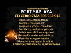 Electricistas PORT SAPLAYA 603 932 932 Baratos
