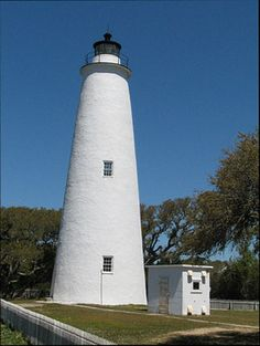Ocracoke Light House;  4.5-hour drive plus a ferry ride N from Hubert