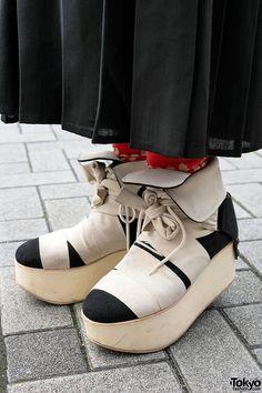 Tokio Bopper Ribbon Platformy