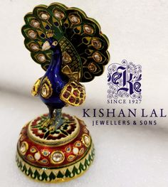 mughal peacock article by Kishan lal jewellers and sons
