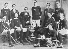 1895 Stanley Cup Winners | Montreal Victorias