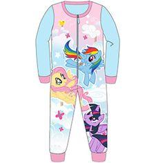 Girls My Little Pony Fleece Onesie