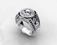 Harley Davidson MotorCycles Ring 1JMW3 by PiettroJewelry on Etsy