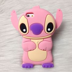 Lilo and Stitch 3D Silicone Phone iPhone 4 4s 5 5s 6 6s 6 plus 6s plus
