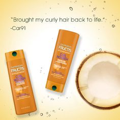 Discover Curl Nourish, a paraben and sulfate-free shampoo, conditioner & leave-in treatment that nourishes curly hair for smoother, defined, frizz-free curls. Curly Hair Care, Curly Hair Styles, Dry Hair Ends, Sulfate Free Shampoo, Curls, Hairstyles, Makeup, Haircuts, Make Up