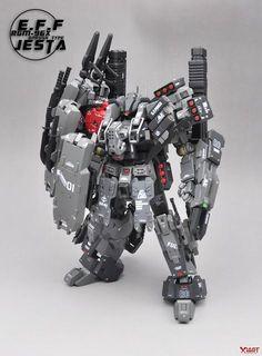 Superior Hobby Complex: MG Jesta On-Rush Type - Custom Built Gunpla Kitbash Gundam Toys, Gundam 00, Battle Robots, Armored Core, Arte Robot, Gundam Custom Build, Cool Robots, Lego Mecha, Gundam Wing