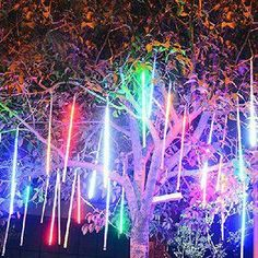 DUE TO POPULAR DEMAND, WE ARE BRINGING IT BACK! YOU ASKED AND WE LISTENED!30cm 144LEDs 8 Tubes Meteor Shower (Multi-Color) LED LightLED bulbs of per tube: 18 LEDsTube Qty : 8 TubesNumber of LED bulbs : 8 Tubes x 18 LEDs (144LEDs Lights ...