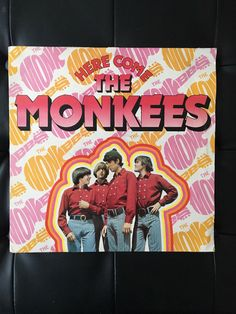 A personal favourite from my Etsy shop https://www.etsy.com/uk/listing/513096081/here-come-the-monkees-original-vinyl
