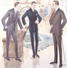 Men's Suits by the American Century Clothing Company, ca. 1916