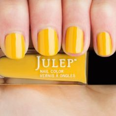 Catrina - Marigold yellow crème.  Get your first box free!  ($45 value) http://www.julep.com/rewardsref/index/refer/id/313807/