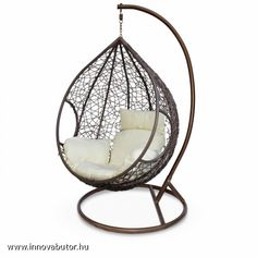 Rattan, Hanging Chair, Inspiration, Furniture, Design, Home Decor, Spa, Polyvore, Products