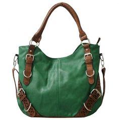 Gorgeous Green Shoulder-Bag.