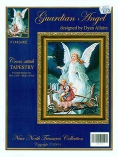 Guardian Angel Cross Stitch Leaflet