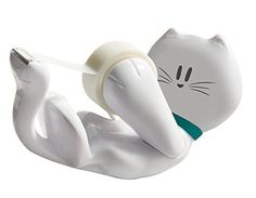 Scotch Magic Tape Dispenser Kitty, White (C39-KITTY-W) Scotch http://www.amazon.com/dp/B00MG187WO/ref=cm_sw_r_pi_dp_aKQRvb1R6P39W