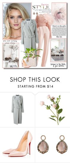"""""""Believe in the beauty of your dreams!!"""" by lilly-2711 ❤ liked on Polyvore featuring Whiteley, Elie Saab, Filles à papa, OKA, Christian Dior, Rampage, Christian Louboutin, Annoushka, women's clothing and women"""