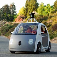 "Google unveils ""driverless"" car prototype"