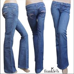 Frankie B.size 6, great condition & fit Frankie B. Denim, size 6, great fit, wash, & condition❌❌1 Hour Sale❌❌ Frankie B. Jeans Boot Cut