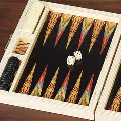 wolfum backgammon flame stitch3