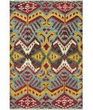 RugStudio presents Loloi Spencer Sc-04 Hm Collection Blue / Steel Hand-Knotted, Good Quality Area Rug