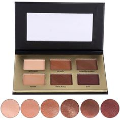 6 Color Professional Matte Natural Makeup Waterproof Eyeshadow Palette Naked Nude Eyelid Mirror Cosmetics #Affiliate