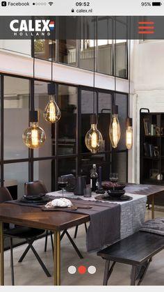 Calex Giant LED lamps > saai op deze manier