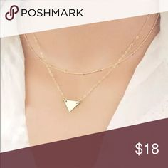 Beautiful Triangle Multilayer Necklace Brand New #N044 Jewelry Necklaces