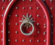 Winchester Cathedral Door. Winchester, England