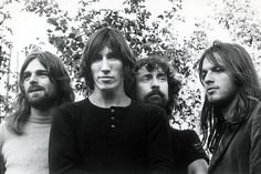 Pink Floyd — Rick Wright / Roger Waters / Nick Mason / David Gilmour.
