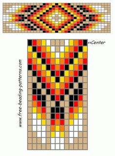 Free Native American Beadwork Designs   Native American Beadwork   Pinterest