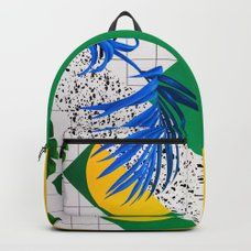 Green Mask Backpack by musya | Society6 D Craft, Designer Backpacks, Keep Shopping, Unisex, Green, Stuff To Buy, Bags, Handbags, Bag