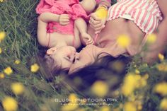 Family photography mother and daughter shoot in yellow flower field. Vancouver photography studio. #love #moments http://www.photosbyblush.com/blog