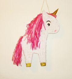 Unicorn Pinata. Pony Pinata. Horse Pinata. by themodernpinata