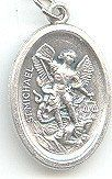 St. Michael <br>Oxidized Medal