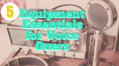Have you made a book trailer or animation and need a narration? Be sure to read KidLit TV's article about voice over equipment and voice acting.
