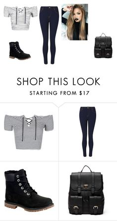 """Untitled #58"" by shortiiiee on Polyvore featuring Topshop, Miss Selfridge, Timberland and Sole Society"